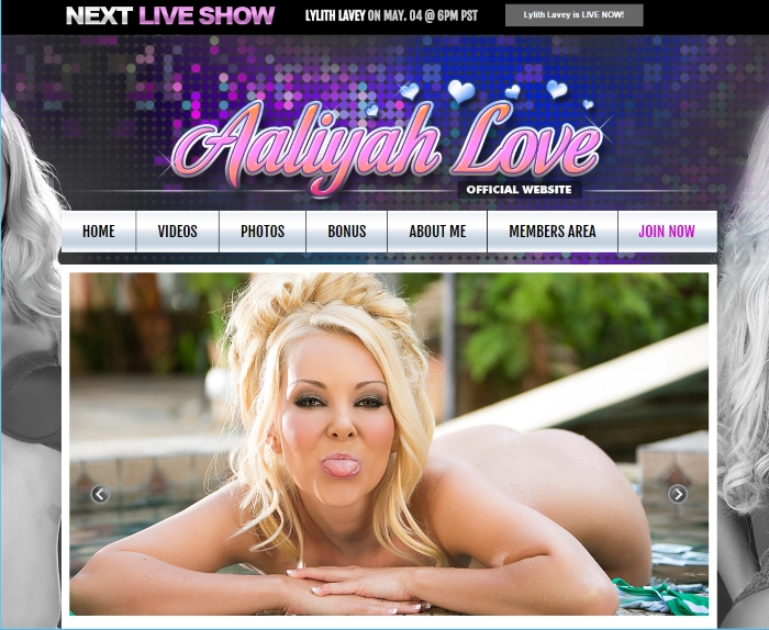 Aaliyah Love Official Site